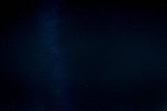 Ciel étoilé et manière laiteuse au-dessus de Kiev Photographie stock libre de droits