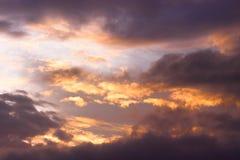 Ciel abstrait puissant photos stock