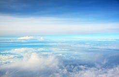 Ciel au-dessus des nuages Photo libre de droits