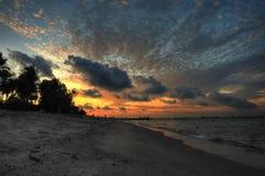 Ciel avant l'aube Photographie stock libre de droits