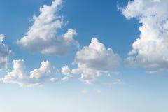 Ciel avec des cumulus photo libre de droits