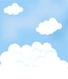 Ciel avec des nuages photos libres de droits