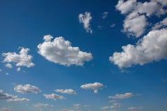 Ciel avec le nuage Photo stock