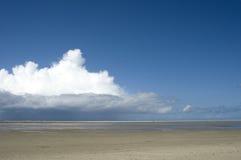 Ciel avec le nuage Images libres de droits
