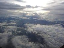 Ciel avec le nuage Photographie stock