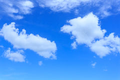 Ciel bleu Photo libre de droits