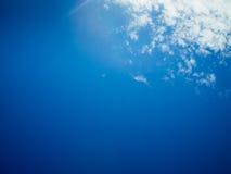 Ciel bleu Image stock