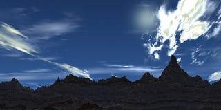 Ciel bleu illustration libre de droits