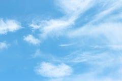 Ciel bleu Photographie stock libre de droits