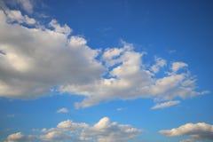 Ciel bleu Image libre de droits