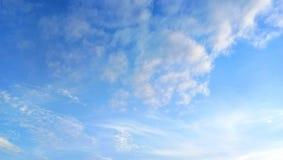 Ciel bleu Photographie stock