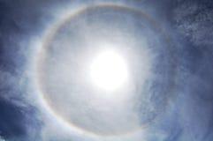 Ciel bleu avec le plan rapproché de nuages Images stock