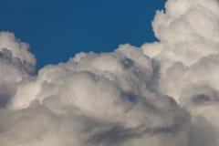 Ciel bleu avec les cumulus blancs photos libres de droits