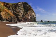 Ciel bleu chez Tennessee Beach Photographie stock