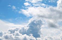 Ciel bleu-clair Image libre de droits