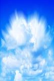Ciel bleu coloré Image libre de droits