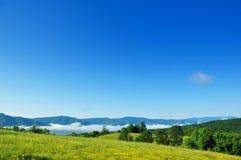 Ciel bleu d'été Image libre de droits