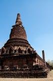 Ciel bleu de Bouddha d'espace libre antique de temple Photographie stock libre de droits