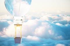 Ciel bleu de concept d'idée Image libre de droits