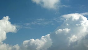 Ciel bleu de laps de temps clips vidéos