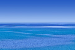ciel bleu de mer Image stock