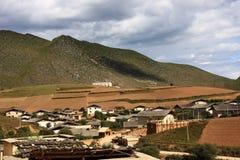 ciel bleu de montagne Image stock