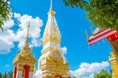 Ciel bleu de pagodas Photos stock