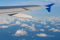 Ciel bleu des aéronefs Photos stock