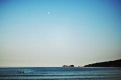 Ciel bleu et mer Image libre de droits