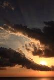 Nettoyez le ciel Photo libre de droits