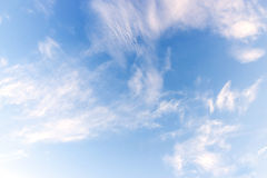 Ciel bleu et nuage Image libre de droits