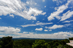 Ciel bleu et nuage Photo libre de droits