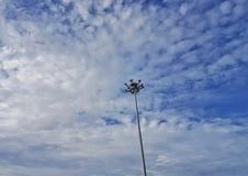 Ciel bleu gentil image libre de droits