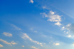 Ciel bleu, jade blanc Images libres de droits