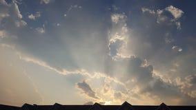 Ciel bleu juste en haut Images libres de droits