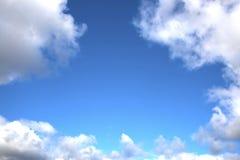 Ciel bleu lumineux Photo libre de droits