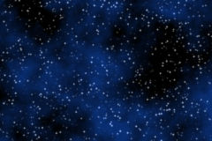 Ciel bleu rêveur illustration stock