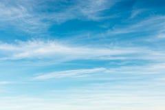 Ciel bleu rêveur Photo libre de droits