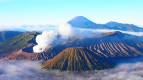 Ciel Bromo Photo stock