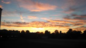 Ciel chaud Photos libres de droits