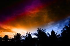 Ciel coloré Photographie stock libre de droits