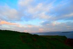 Ciel coloré au coucher du soleil Photo libre de droits