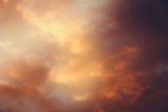 Ciel coloré par résumé Photos libres de droits