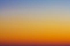 Ciel crépusculaire Image libre de droits