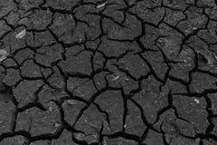 Ciel criqué de sol de sécheresse Photographie stock libre de droits