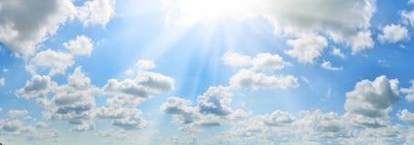 ciel d'été Photos stock