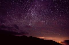 Ciel d'étoile Photographie stock libre de droits