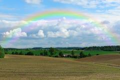 Ciel d'arc-en-ciel photo libre de droits