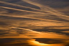 Ciel d'aube Photos libres de droits