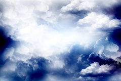 ciel d'illustration Images libres de droits